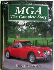 MGA THE COMPLETE STORY CROWOOD AUTO CLASSICS SERIES DAVID G STYLES CAR BOOK
