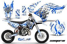 KTM SX65 SX 65 2009-2015 GRAPHICS KIT CREATORX DECALS STICKERS SAMURAI BLWNP