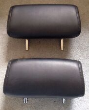 2004 Nissan Maxima Dark Gray Seat Headrest Pair Set of 2 Head Rests