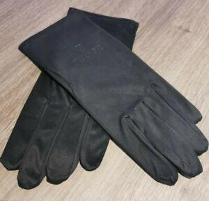 Brand new tudor Watch Presentation Cleaning Glove Gloves Pair Black m medium