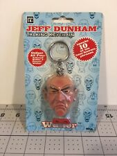 Rare Vintage Jeff Dunham Walter Talking Keychain New Sealed Working
