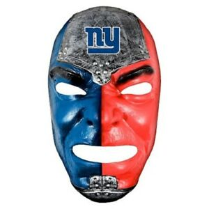 NEW YORK GIANTS NFL FAN FACE FACE MASK FRANKLIN TEAM LOGO