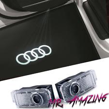 AUDI LED Car Door Welcome Laser Projector Ghost Shadow Logo Light QUATTRO 2 OOOO