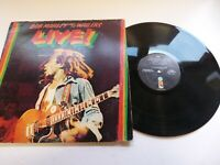 "Bob Marley & Wailers. Live. 12"" Album. Island Records. 1975"
