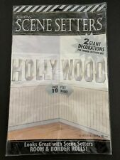 HOLLYWOOD SIGN Scene Setter Party Wall Decoration