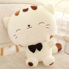New Include Tail Cute Plush Stuffed Toys Cushion Fortune Cat Doll Nice Gift