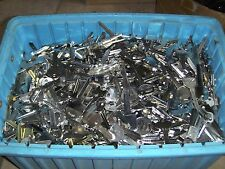 Large Lot of Misc Key Blanks 2.5 lbs House, Car, etc . Un-Cut. Free Shipping