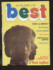 BEST 4/78 BEAT INGLESE BEATLES ANIMALS YARDBIRDS WHO ROLLING STONES SMALL FACES