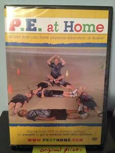 P.E. at  Home Kids Exercise DVD Fun Home School Parents Elementary Instruction