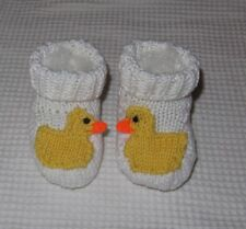 Istruzioni stampate-Baby Duck stivali animale bootees BOOTIES knitting pattern