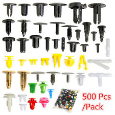 500pc Plastic Car Rivet Bumper Fender Retainer Fastener Mud Flaps Push Clips Pin (Fits: Scion xA)