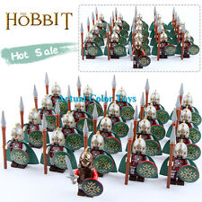 21PCS/Lot The Hobbit series  The Lord of the Rings rohan Knights&King