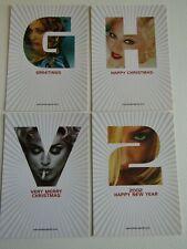 More details for madonna 2001 ghv2 greatest hits volume 2 - boomerang postcard set of 4 (e6)