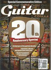 GUITAR & BASS MAGAZINE, JUNE 2011, VOL. 22, NO.9, 20TH ANNIVERSARY SPECIAL ~