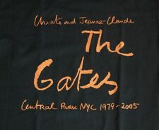 NEW Christo and Jeanne-Claude THE GATES Central Park NYC 1979-2005 T Shirt S