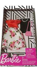 Barbie Fashion Pack. Floral Dress w/Accessories. New in Box. 2018 Mattel.