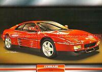 FERRARI 348 1989 : Fiche Auto Collection