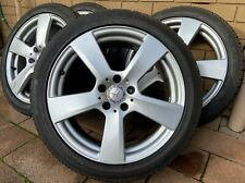 "Genuine Mercedes Benz E - CLASS 18"" W212 C207 A207 Alloy Wheels Rim TYRES"