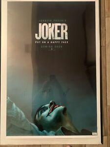 JOKER Joaquin Phoenix, De Niro, Zazie Beetz Signed Autographed Movie Poster COA