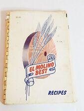El Molino Best Recipes 1953 Paperback Vintage