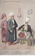 Vieille Ansichtsk. Carte postale Costumes-UNIFORMES Verlag fruchtermann Constantinople