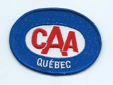 Canada Automobile Association Quebec employee/member patch 2-1/4 X 3