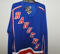 NHL New York Rangers Hockey Jersey New Mens Sizes MSRP $60