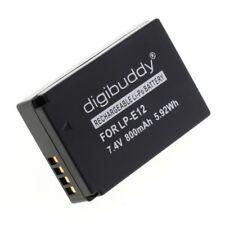 Digibuddy Accu Batterij Jupio CCA0026 LP-E12 - 800mAh 7.4V Akku Battery Batteria