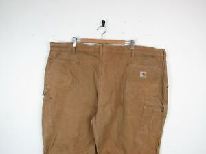 """Carhartt DOUBLE KNEE Sand Brown Straight Workwear Carpenters Trousers 