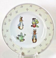 "Wedgwood Peter Rabbit Collector's 7"" Plate Salad Dessert Frederick Warne 1996"
