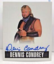 Dennis Condrey 2017 Leaf Originals Wrestling 2014 on-card Autograph Auto #DC1