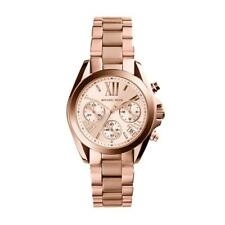 Michael Kors Watch MK5799 Bradshaw Mini Chronograph Rose Gold Bracelet
