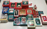 Hallmark Keepsake Christmas Ornaments Lot Of 19 & 3 others (19) + 2 Spoons