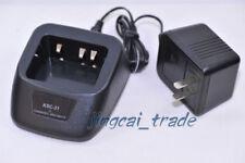 Rapid Single Unit Charger for Kenwood TK-2200 TK-3200 Radio Battery KNB-29N