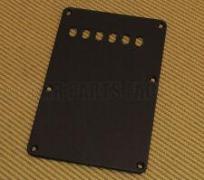 PG-0576-E23 Economy 1-ply Black Back Plate 6 string holes for Strat Guitar