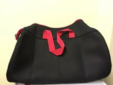 DIESEL BAG WEEKEND / SPORTS BAG  RED HANDLES