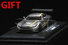 Car Model Avan Style Mercedes-AMG GT3 1:87 (Grey/Yellow) + SMALL GIFT!!!!!