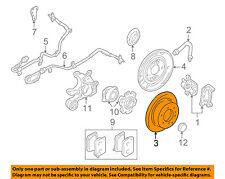 MITSUBISHI OEM 01-06 Montero Rear Brake-Rotor MR418067