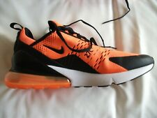 Nike air max 270 trainers orange & black, UK size 9 Only Worn once
