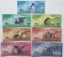 Wilkes Land (Antarctica) set 7 banknotes 2014 UNC Private issue (11838)