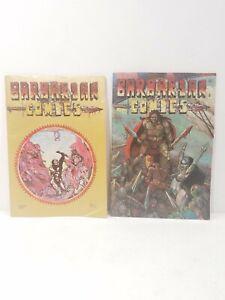 Barbarian Comics #2 & 4 California Comics Bob Sidebottom Comic Books 1973 1975