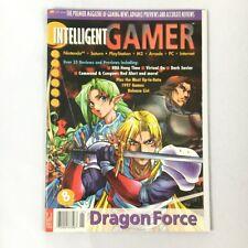Rare INTELLIGENT GAMER Issue 8 January 1997 DRAGON FORCE Nintendo N64 PSX Saturn
