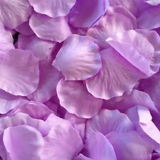 1000  Purple Silk Rose Petals Confetti Wedding Party Table Decorations