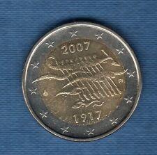 2 Euro Commémo Finlande 2007 Anniversaire de l'Indépendance SUP SPL Finland