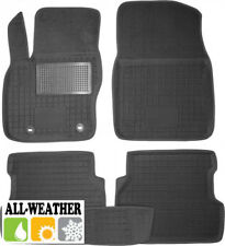 All Weather Floor Liner Velour Carmats Rubber Backing Fit Ford Focus II 2005-10