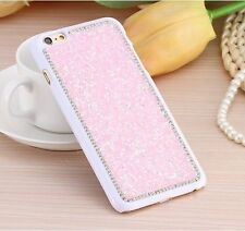 For iPhone 6 / 6S - Luxury Bling Diamond Rhinestone Hard Chrome Studs Case Cover