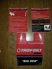 Troy-Bilt Big Red Tiller Hood and Handle Bar Decal Set