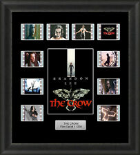 The Crow 1994 Framed 35mm Film Cell Memorabilia Filmcells Brandon Lee