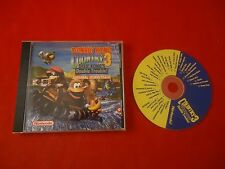 Donkey Kong Country 3 OFFICIAL Soundtrack Music CD Super Nintendo SNES *RARE*
