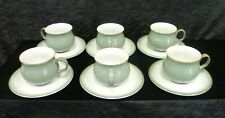 Denby Regency 6 Cups and Saucers  (A4)